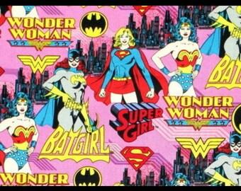 Da Donna Eroe Fumetti Donna Superman Batman Felpa Sweater Maglione Top Taglia 8-14