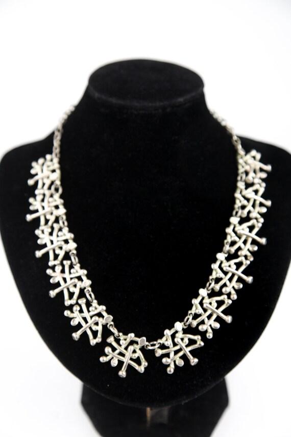 Brutalist DOLCE VITA necklace, 1990s