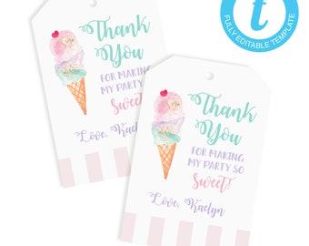 photo regarding Ice Cream Printable called Ice product printable Etsy