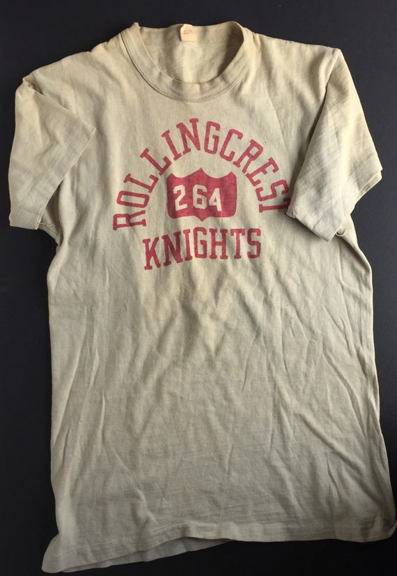 1950s Rolling Knights Gym shirt & shorts