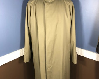 Sanyo Cotton Blend Raincoat, Made in Japan.