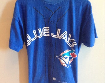 fcc542102 Vintage Toronto Blue Jays - Joe Carter  29 shirt jersey - 1994 - LARGE -  Pro-Look Sportswear brand