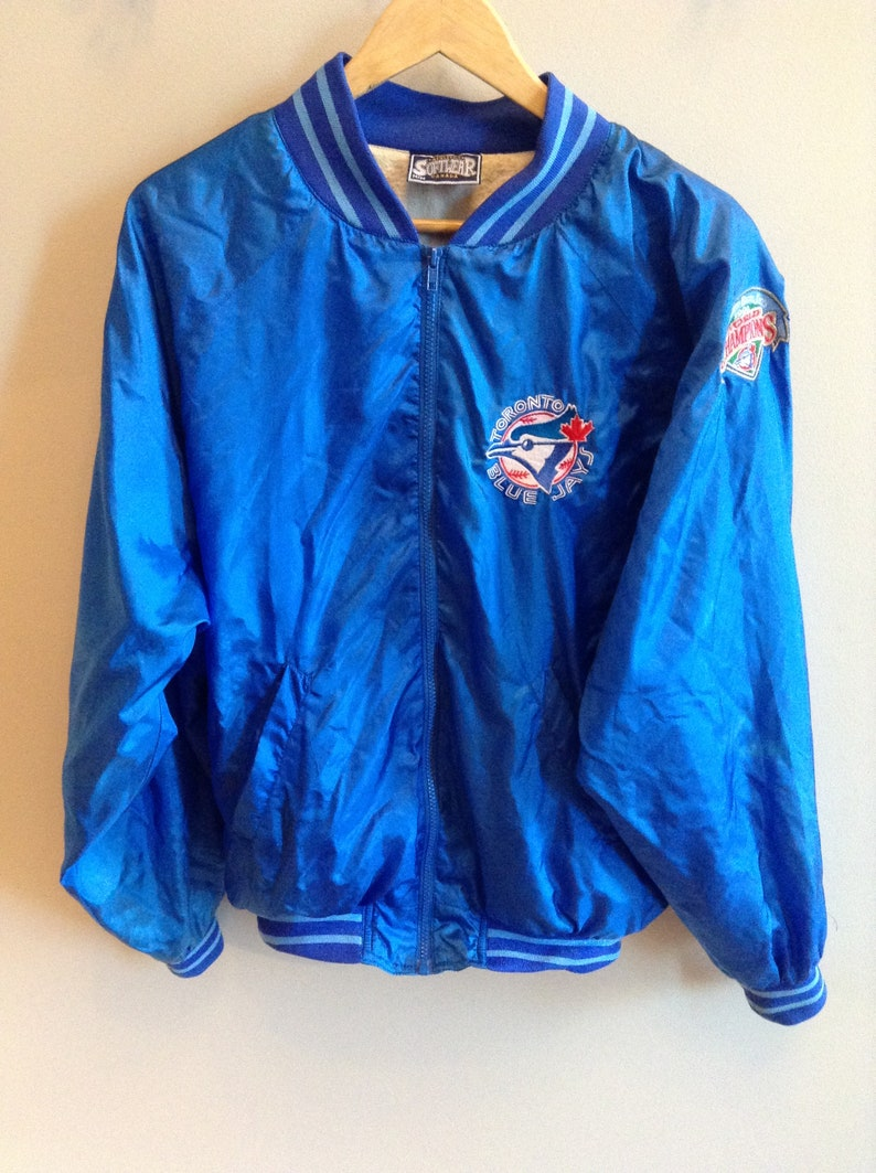 2fc55f1a225 Vintage Toronto Blue Jays 1992 World Series Champions jacket