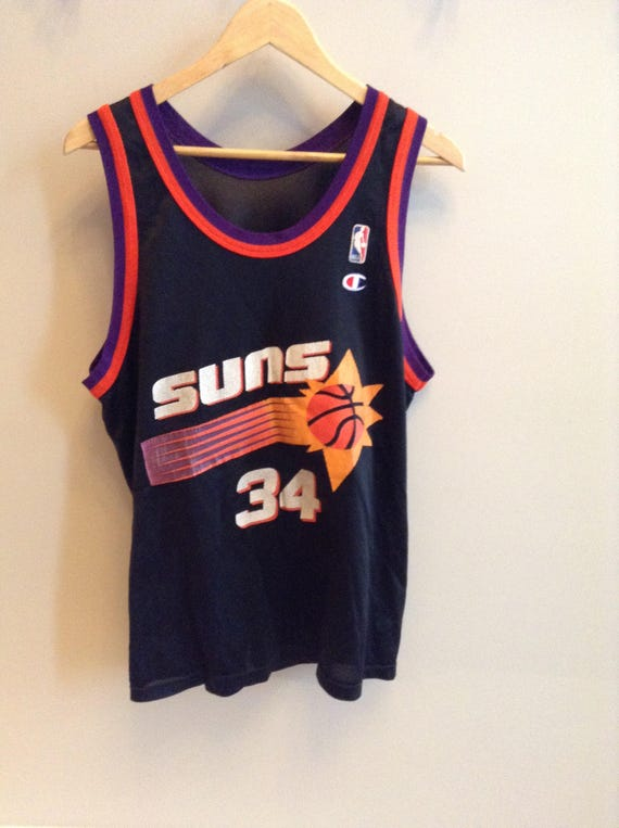 9c2a65f7b585 ... promo code for vintage phoenix suns charles barkley jersey 34 nba etsy  77cdd 7fa04
