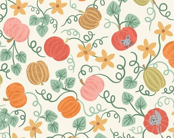 Pumpkin Fabric Etsy