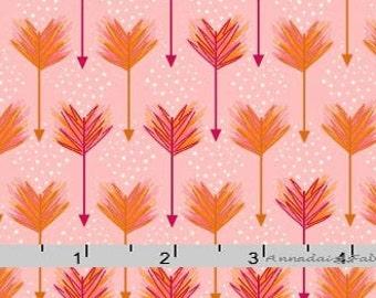 Pink Arrows Fabric, Henry Glass Modern Tyke 6569 22, Girl Baby Quilt Fabric, Pink Arrows Quilt Fabric by the Yard, Kim Diehl, Cotton