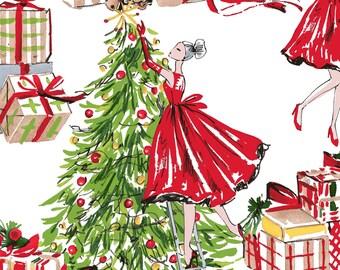Moda Christmas Fabric 2019.Christmas Fabric Etsy