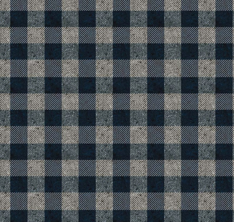 Grey Houndstooth fabric 100/% cotton /'Menswear/' from Penny Rose Fabrics