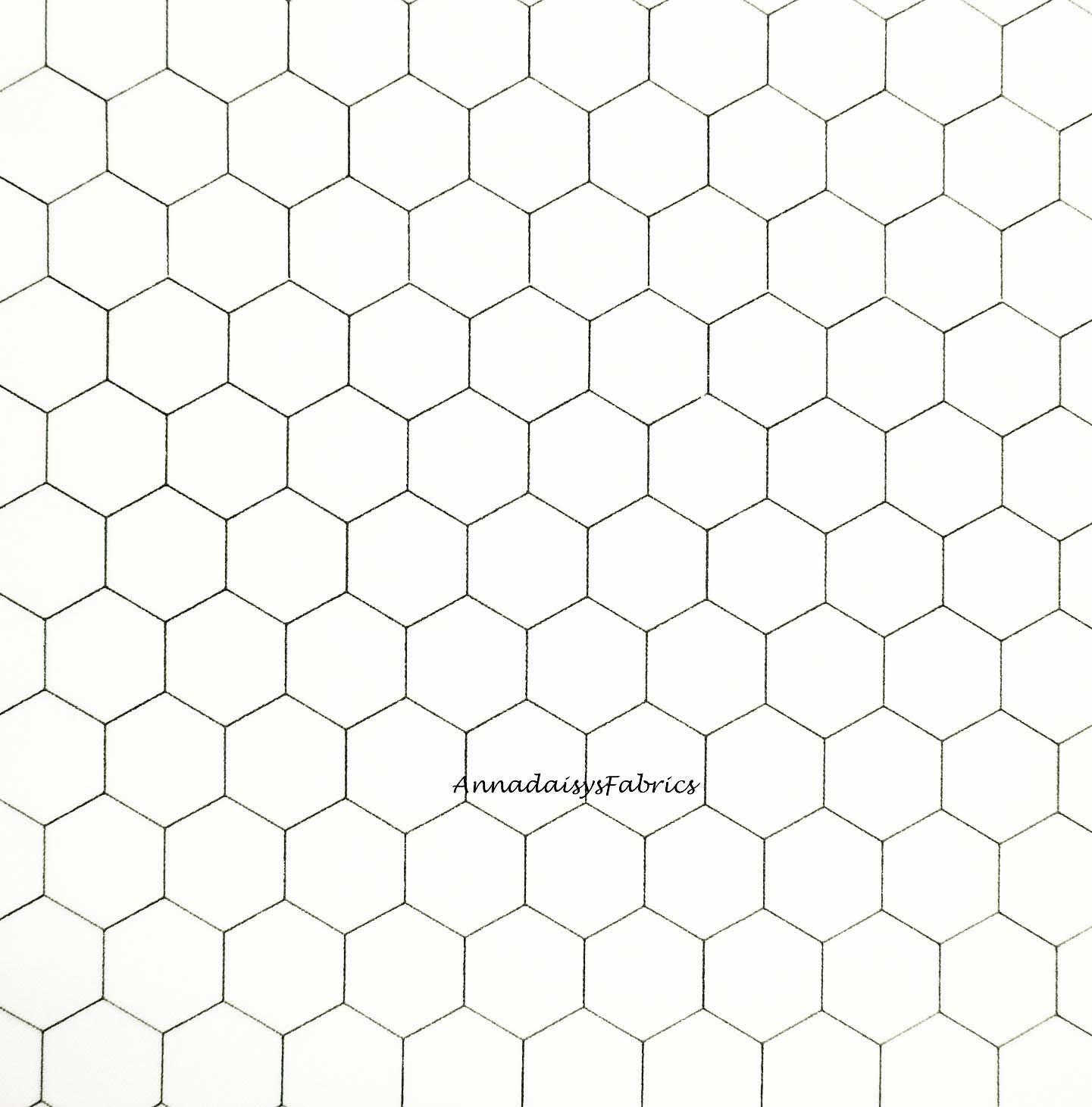 Chicken Wire Fabric, Moda 8255 1, Black and White Chicken Wire Quilt ...