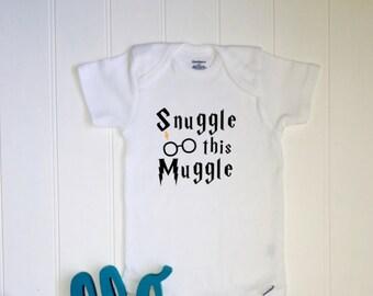 55d9f0afd New baby ONESIE® // Funny ONESIE® // Unisex Onesie® // Baby Shower // Funny  baby gift// Snuggle onesie // Harry Potter Inspired