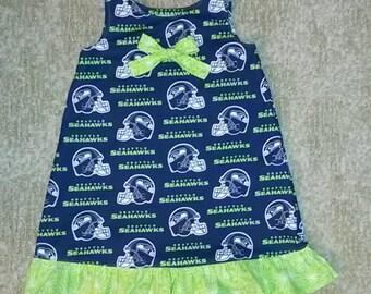 Seahawk Dress / Jumper  Sizes 4-6x