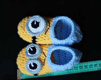 Crochet PATTERN for Slippers - adult + kids sizes PDF file | Instant Download
