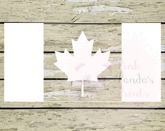 Flag, decal, Canadian, true north strong and free, Canada, sticker, vinyl sticker, car, custom, door sticker, vinyl decal, hello, custom