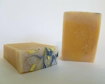 Lemon Zest Goats Milk Soap
