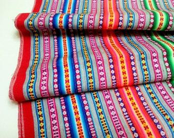PERUANISCHE Decke Silber Farbe, Peru Textil, Cusco decken ethnische Stoff,  ethnische Stoff, indischen Stoff, bunte Decke Inka design 8580c622b9