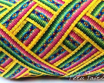 Golden Yellow Jacquard Ribbon , Geometric trim, decorative ribbon, geometric ribbon,craft supplies,ribbon by the yard, craft supply