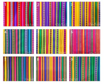 PERU FABRIC 10 Meters Choose Your Color DHL / Sewing Fabric for cutains / Mexican textiles /Tribal Fabric/Jacquard Fabric /guatemalan fabric
