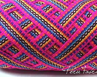 Fuchsia Geometric Ribbon 5 meters,  woven ribbon jacquard, trim decorative,wholesale ribbon supplier,ethnic ribbon , ribbon by meter