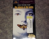 Vintage 1991 VHS - The Silence Of The Lambs - MGM - Sealed