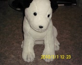 Vintage Victor Edison Nipper Stuffed Plush - RCA Records Mascot Dog - Dakin
