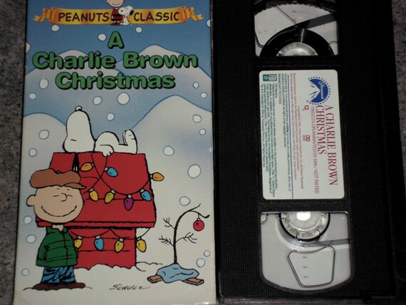 A Charlie Brown Christmas Vhs.Vintage Vhs A Charlie Brown Christmas Peanuts