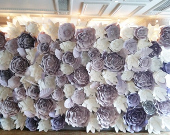 Sale&Discount Paper Flower backdrop