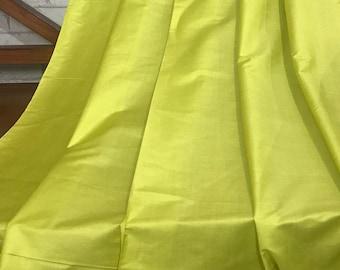 22f6c0eaa318d5 SALE 30% Lime Green Khadi Tussar Silk