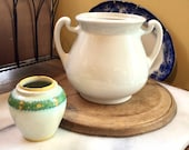 Ironstone Sugar Bowl Farmhouse MUST HAVE