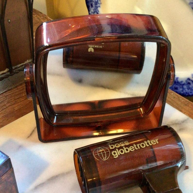 Yves Rocher Tortoise Dressing Table Set    Vintage GLAM