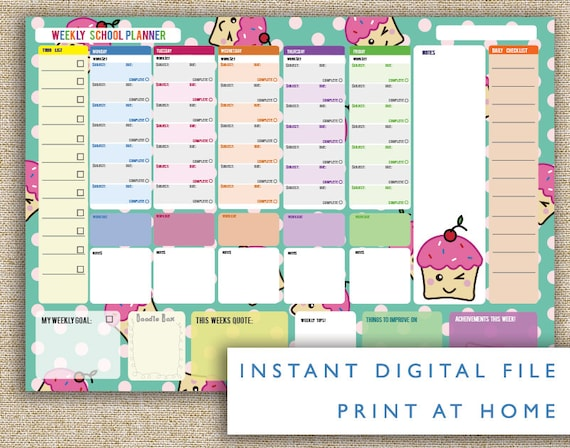 Shocking image for stylish planners and organizers