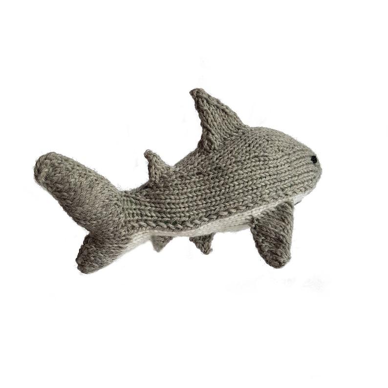 Knitted Shark PDF Pattern Knitting Pattern DIY Amigurumi ...