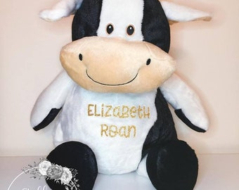 Cow Plush Etsy