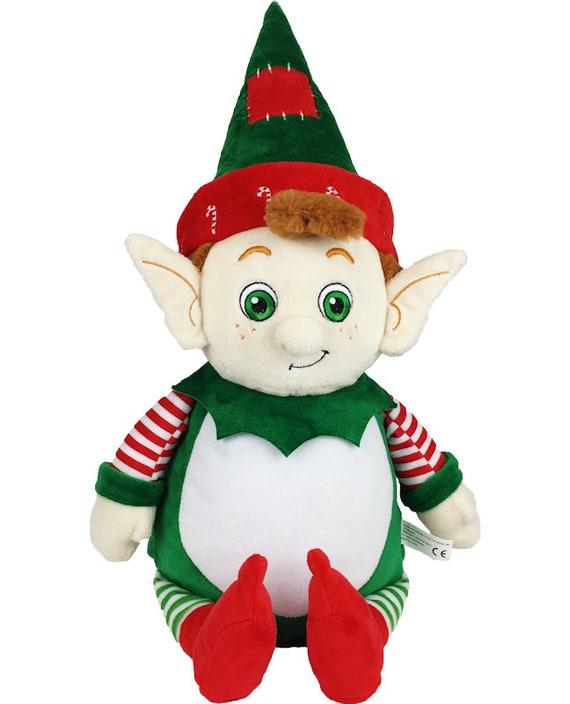 Personalized Elf Personalized Stuffed Animal Elf Plush Etsy