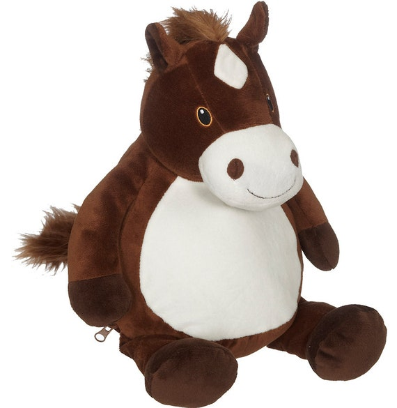 Large Personalized Plush Horse Personalized Stuffed Animal Etsy