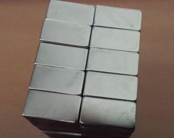 Magnet rectangle magnet N50 20x10mm 20mm powerful neodymium