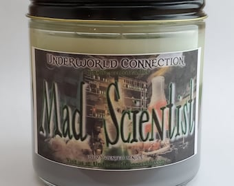 MAD SCIENTIST scented candle