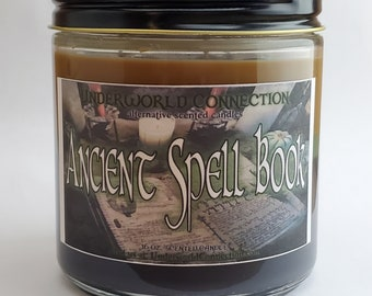 ANCIENT SPELL BOOK scented candle