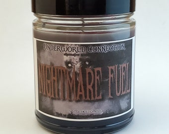 NIGHTMARE FUEL scented candle