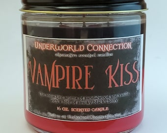 VAMPIRE KISS scented candle
