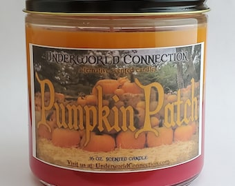 PUMPKIN PATCH scented candle