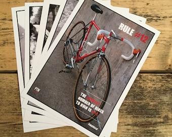 Cycling motivational prints