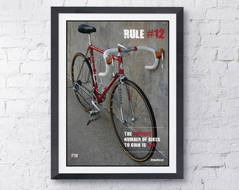 The rules cycling quote Rule #12
