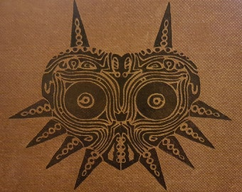 Woodburning - Tribal Majora's Mask