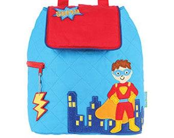 Stephen Joseph superhero backpack, superhero diaper bag, superhero nursery, super hero nursery