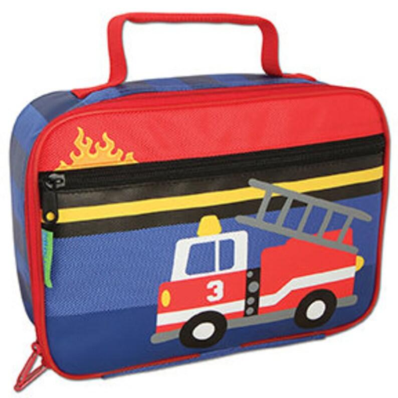 Stephen Joseph Fire truck Backpack Fire truck