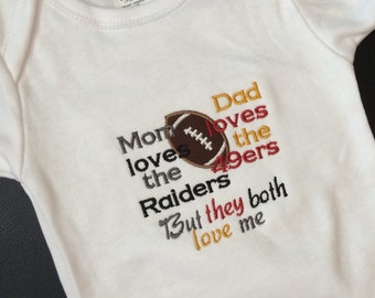Baby Divided, House Divided, Rivalry bodysuit, house divided bodysuit