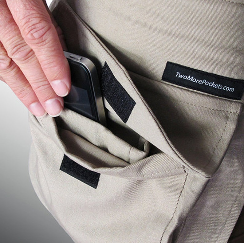TwoMorePockets \u2013 HIKING and easily carrying the essentials with TwoMorePockets!