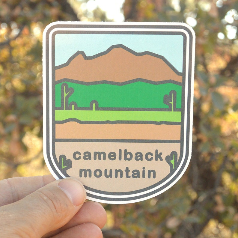 Hiking sticker. Sticker. bumper sticker laptop sticker image 0