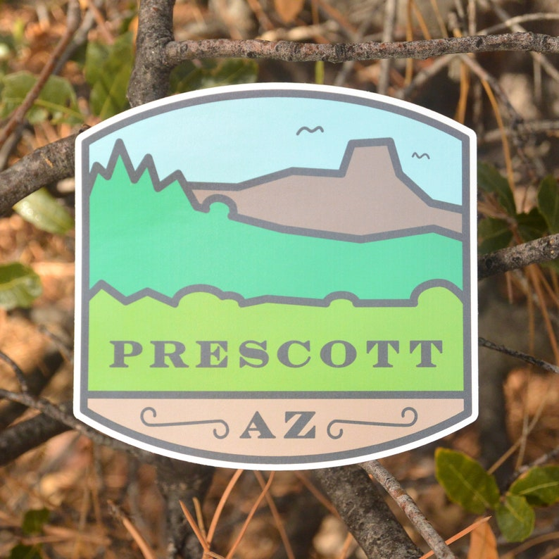 Sticker. bumper sticker laptop sticker Prescott image 0