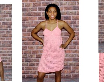 Crochet Night Gown With Pantie Pattern   801